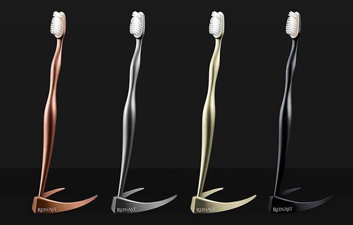 Productos singulares: Reinast, el cepillo dental más caro del mundo