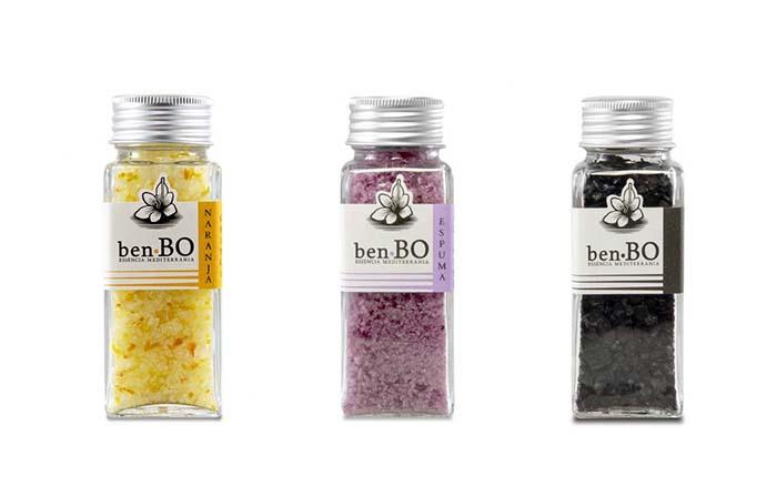 Productos singulares: benBO, sales con esencia mediterránea