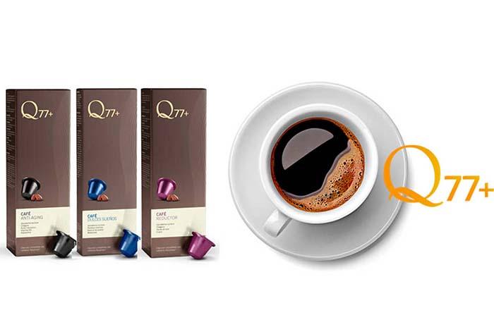 Productos singulares: Q77+, la línea de café que mejora la salud