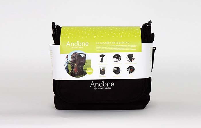 Productos singulares: Andone, bolso para carrito de bebé con doble utilidad