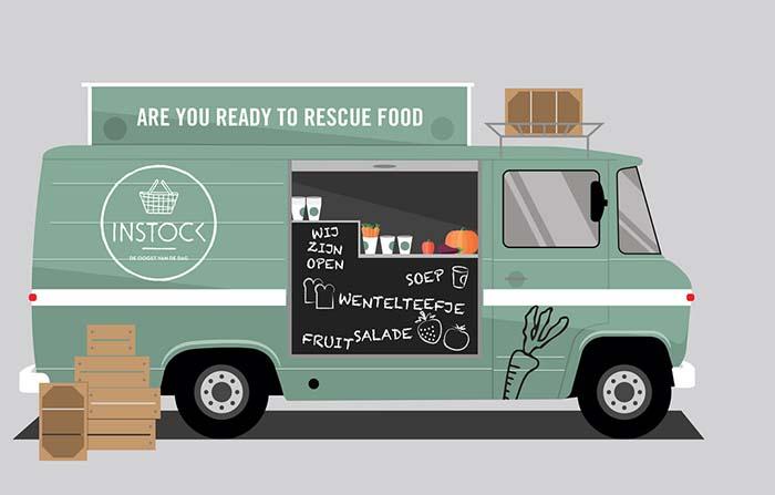 Productos singulares: Instock, aprovechamiento de excedentes de comida
