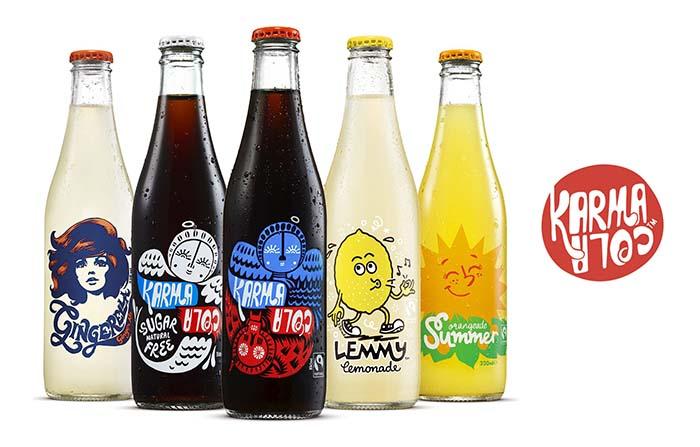 Productos singulares: Karma Cola, los refrescos más éticos del mundo