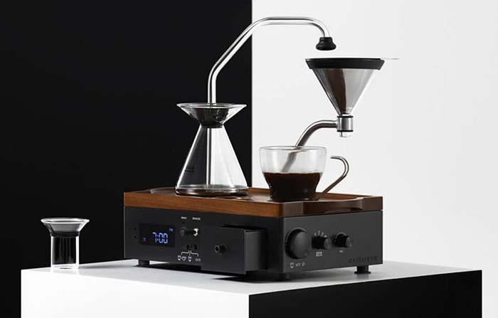 Productos singulares: The Bariseur, despertador de café y te