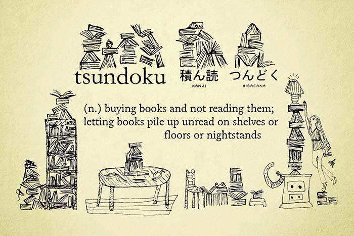 Tsundoku o bibliomanía: acumulación de libros por placer