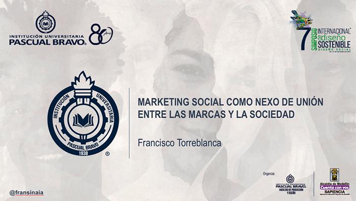 Ponencia Francisco Torreblanca V Simposio Internacional de Diseño Sostenible IUPB