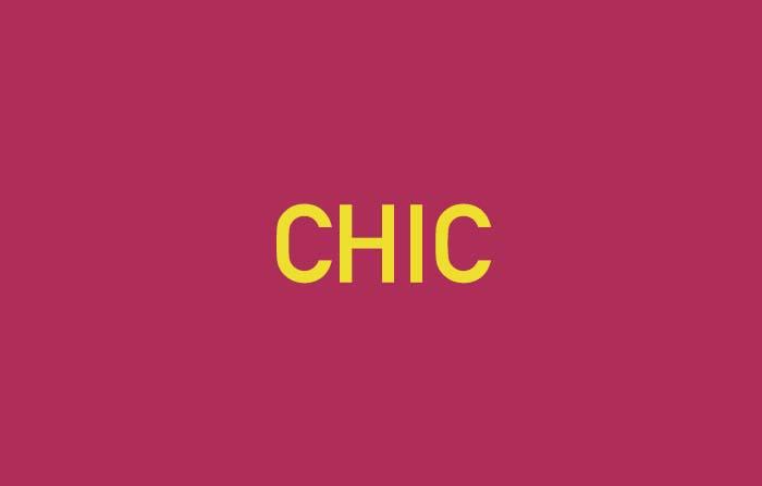 Conceptos de tendencia en el nuevo consumidor: Chic