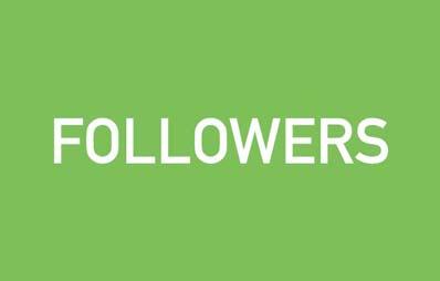 Conceptos de tendencia en el nuevo consumidor: Followers