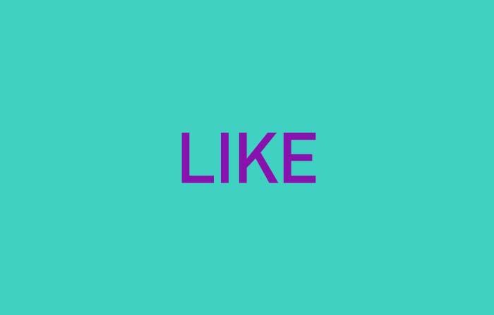 Conceptos de tendencia en el nuevo consumidor: Like