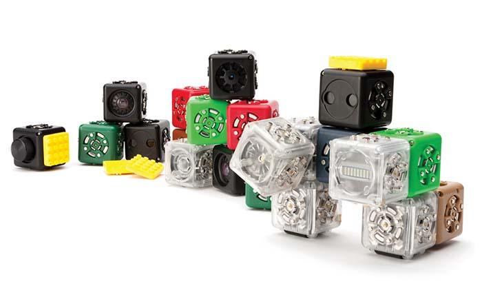 Productos singulares: Cubelets Robot Blocks de Modular Robotics