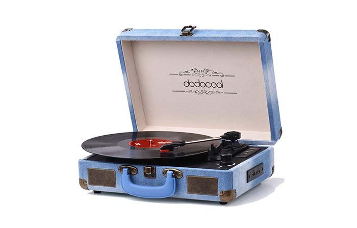 Productos singulares: Dodocool, tocadiscos Bluetooth de estilo vintage