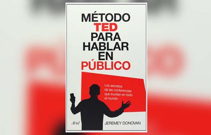 Libros recomendados: Método TED para hablar en público