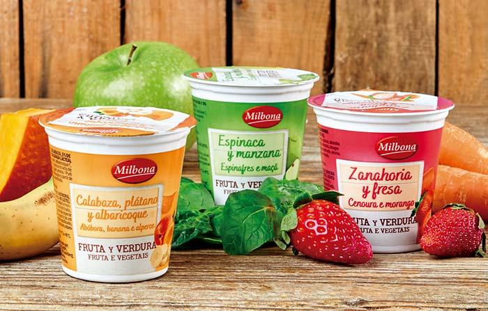 Productos singulares: Milbona, yogures con verduras de Lidl