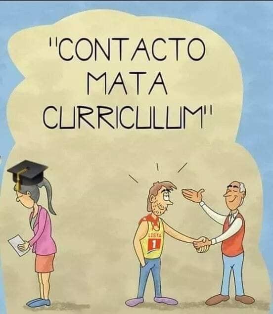 Contacto mata Currículum: el mejor marketing, una buena recomendación