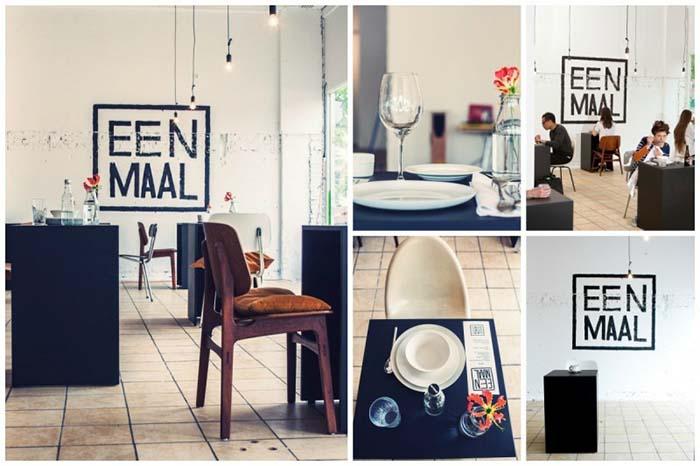 Productos singulares: Eenmaal, el restaurante donde comer solo