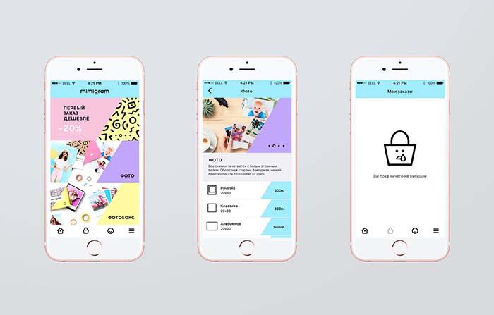 Mimigram: App para convertir momentos digitales en productos físicos