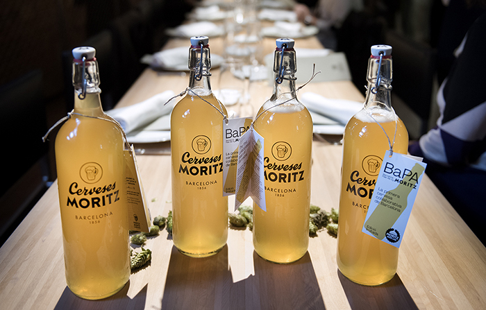 Morizt BAPA, la primera cerveza colaborativa de Barcelona