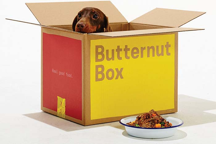 Butternut Box, suscripción de alimentos personalizados para mascotas