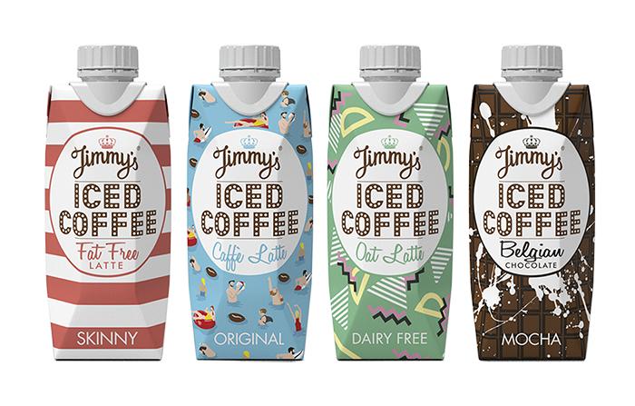 Jimmy's Iced Coffee, una sorprendente marca de café en brik