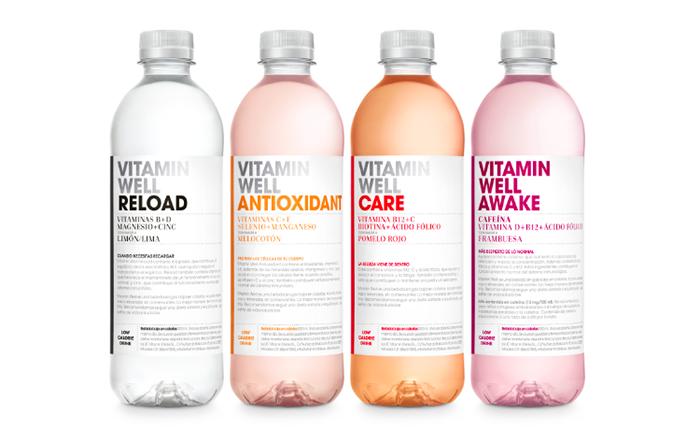 Vitamin Well, bebida baja en calorías con vitaminas y minerales