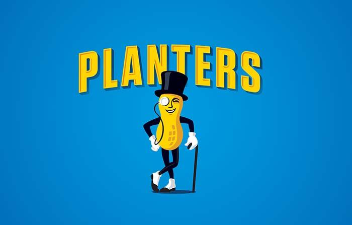 Origen y curiosidades de mascotas de marca: Mr. Peanut de Planters