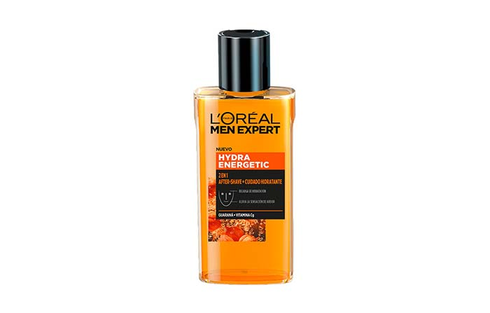 Aftershave 2 en 1 Hydra Energetic de L'Oréal Men Expert