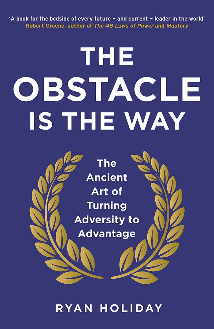 Libros recomendados: The Obstacle is the Way