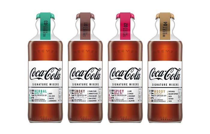 Coca-Cola Signature Mixers, propuesta para combinar con destilados