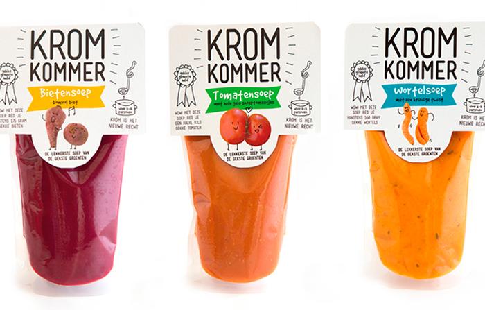 Kromkommer, elaboración de sopas con vegetales imperfectos