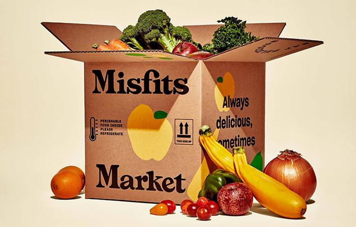 Misfits Market, suscripción de frutas y verduras imperfectas