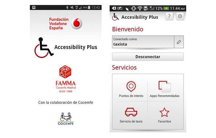 Accessibility Plus, aplicación para personas con movilidad reducida