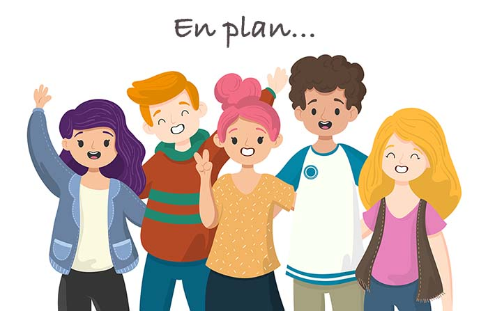 En plan... la implacable nueva forma de comunicación adolescente
