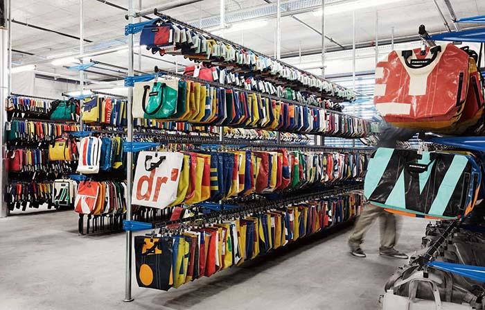 Freitag, mochilas sostenibles elaboradas con lonas de camiones