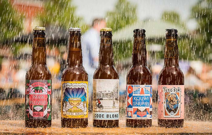 Rainbeer, cerveza holandesa elaborada con agua de lluvia