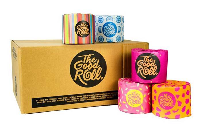 The Good Roll, papel higiénico reciclado con enfoque social