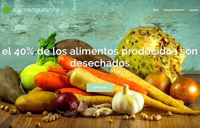 agroSingularity, desperdicios agrícolas convertidos en materia prima
