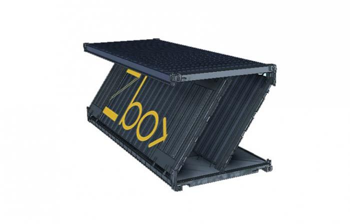 ZBox, el contenedor plegable sostenible de Navlandis