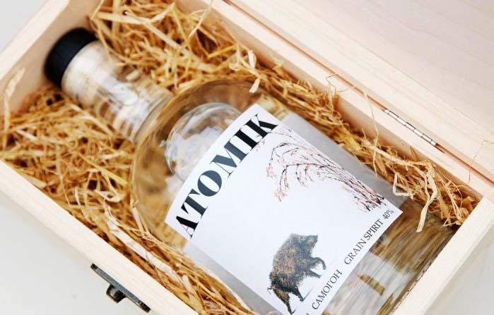 Atomik, vodka elaborado con agua de la zona de exclusión de Chernobyl