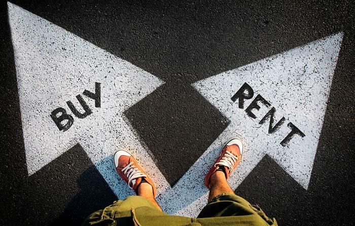 Cambio en el hábito de consumo: transición de la propiedad al alquiler
