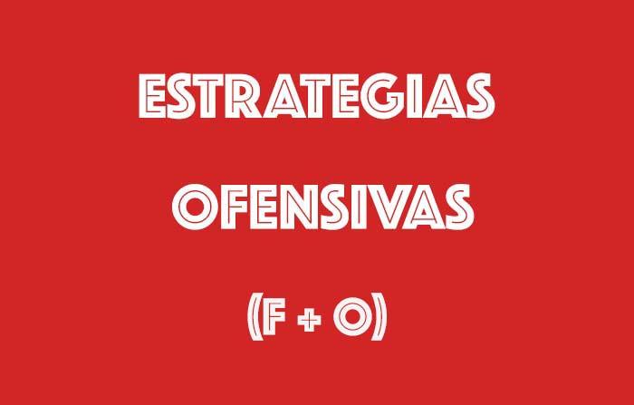 Estrategias derivadas del análisis CAME: Ofensivas (F + O)
