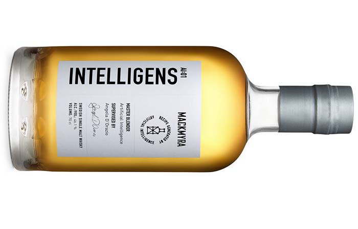 Intelligens, el primer whisky del mundo creado con inteligencia artificial