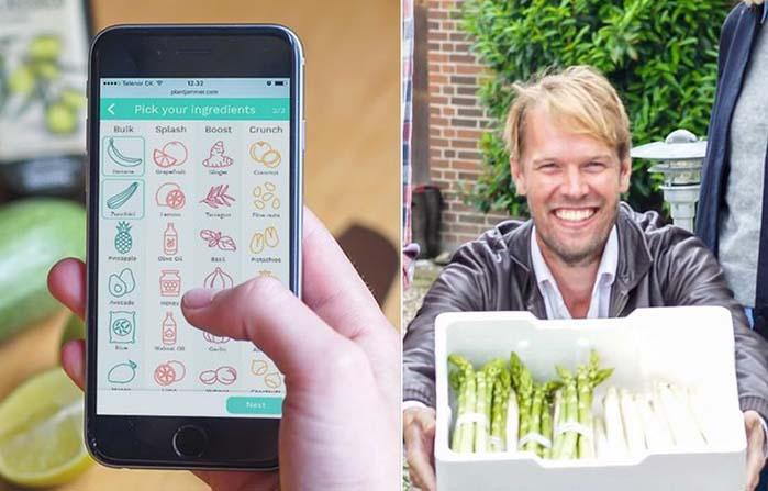 Plant Jammer, asistente de cocina equipado con inteligencia artificial
