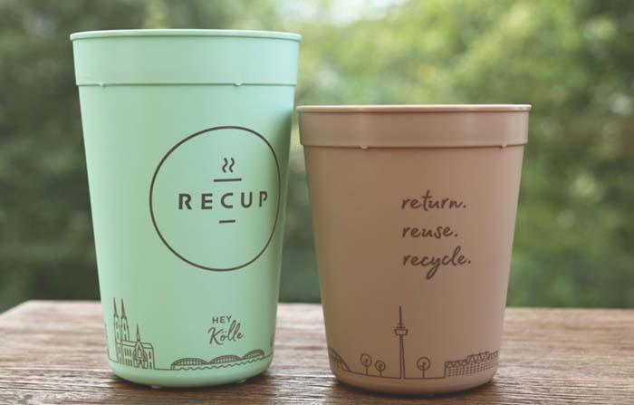 Recup, vasos reutilizables de café con estilo para llevar