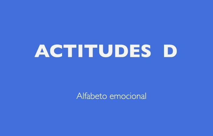 Alfabeto emocional del Doctor Hitzig: actitudes tipo D