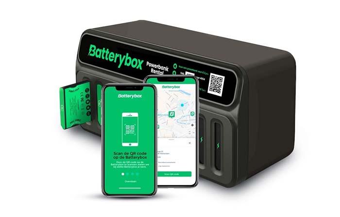 Batterybox, red itinerante de cargadores para smartphones