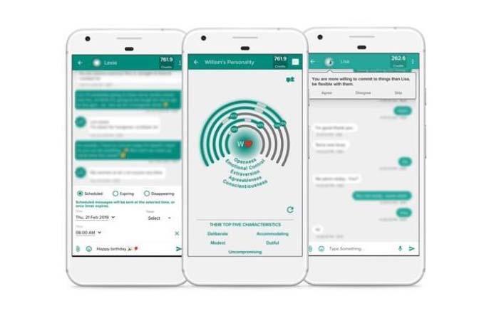 Mei, app con Inteligencia Artificial que analiza conversaciones Whatsapp