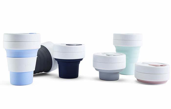 Stojo, vaso plegable reutilizable con enfoque sostenible