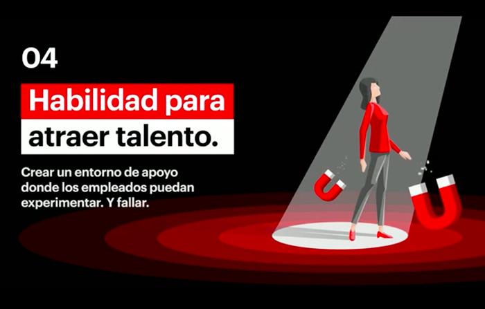 7 capacidades para liderar el futuro: Habilidad para atraer talento