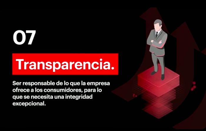 7 capacidades para liderar el futuro: Diseñar procesos con transparencia
