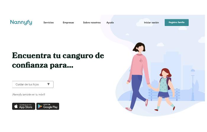 Nannify, marketplace que enlaza familias con nannys, profes y enfermeras
