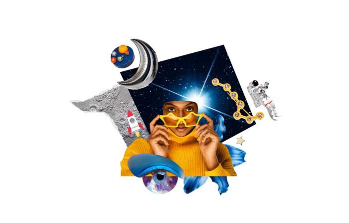 Informe de tendencias inspiradoras Pinterest 100: Sobre el espacio